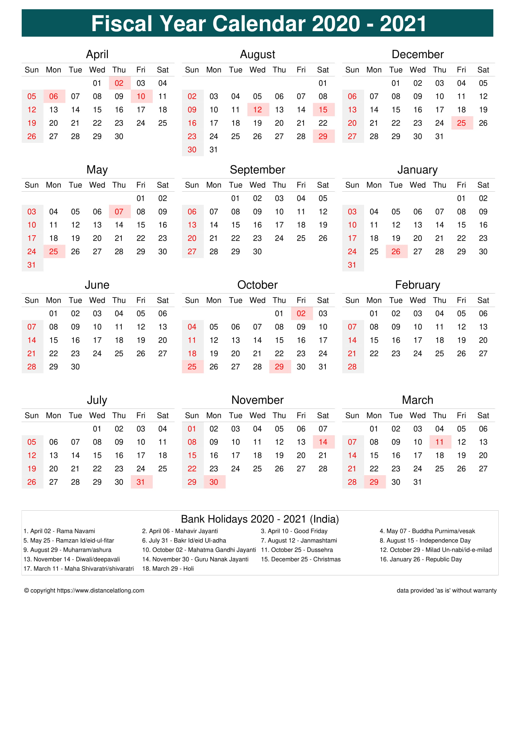 Fiscal Portrait Calendar vertical month week covered line ...