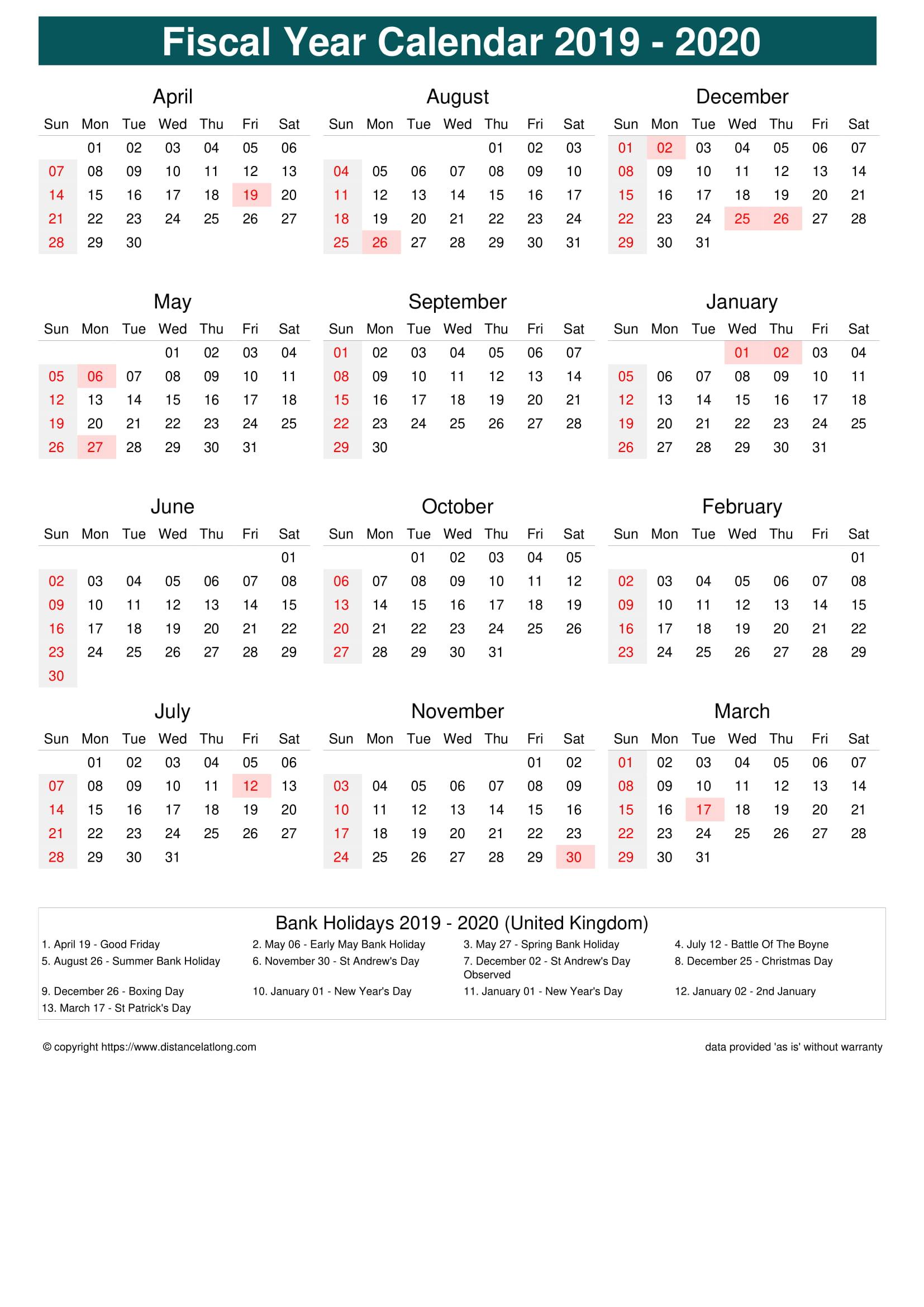 United Kingdom Holiday Calendar 2020 JPG Templates - distancelatlong.com