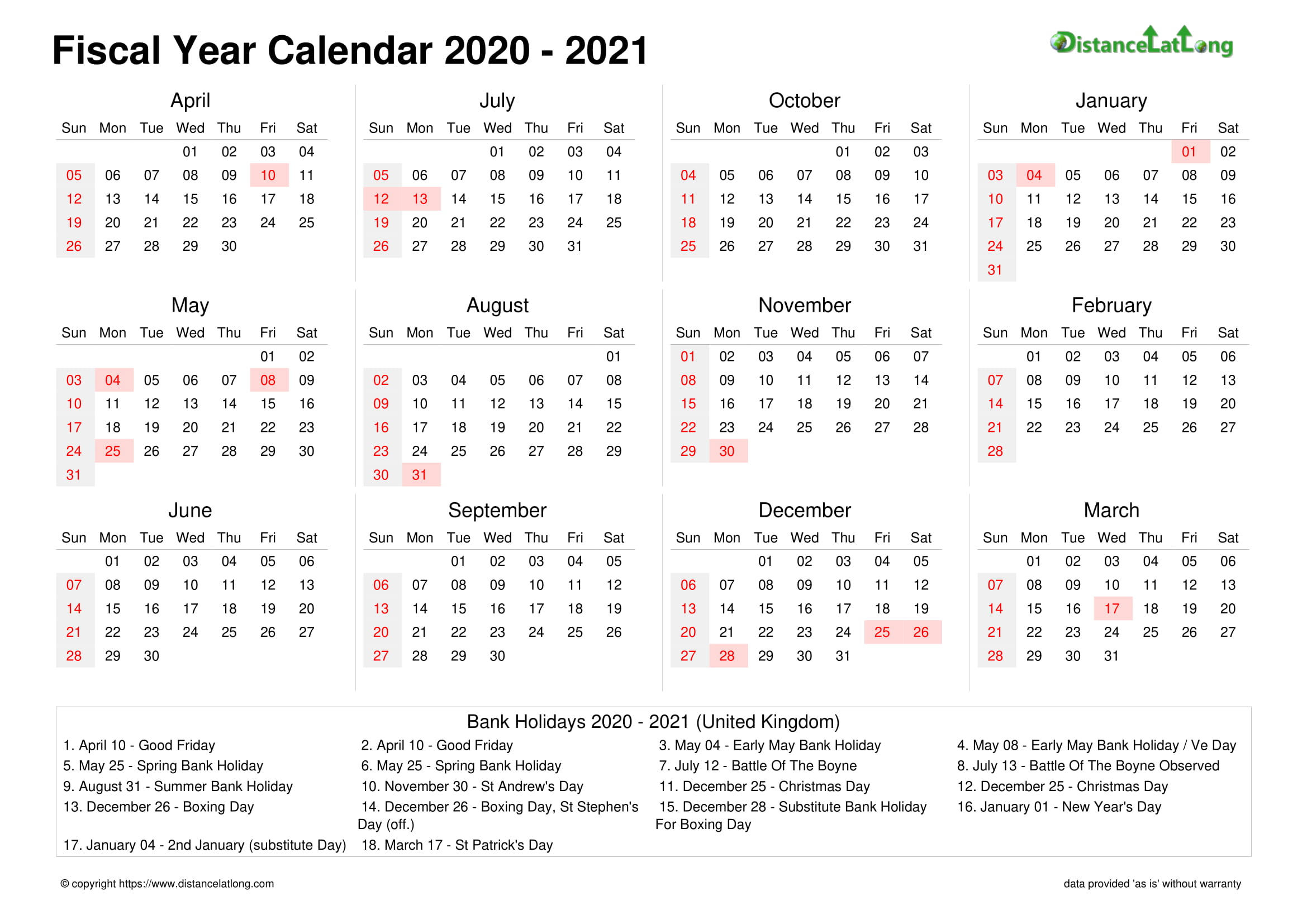 2021 Holiday Calendar Landscape Orientation Free Printable Templates Free Download Distancelatlong Com