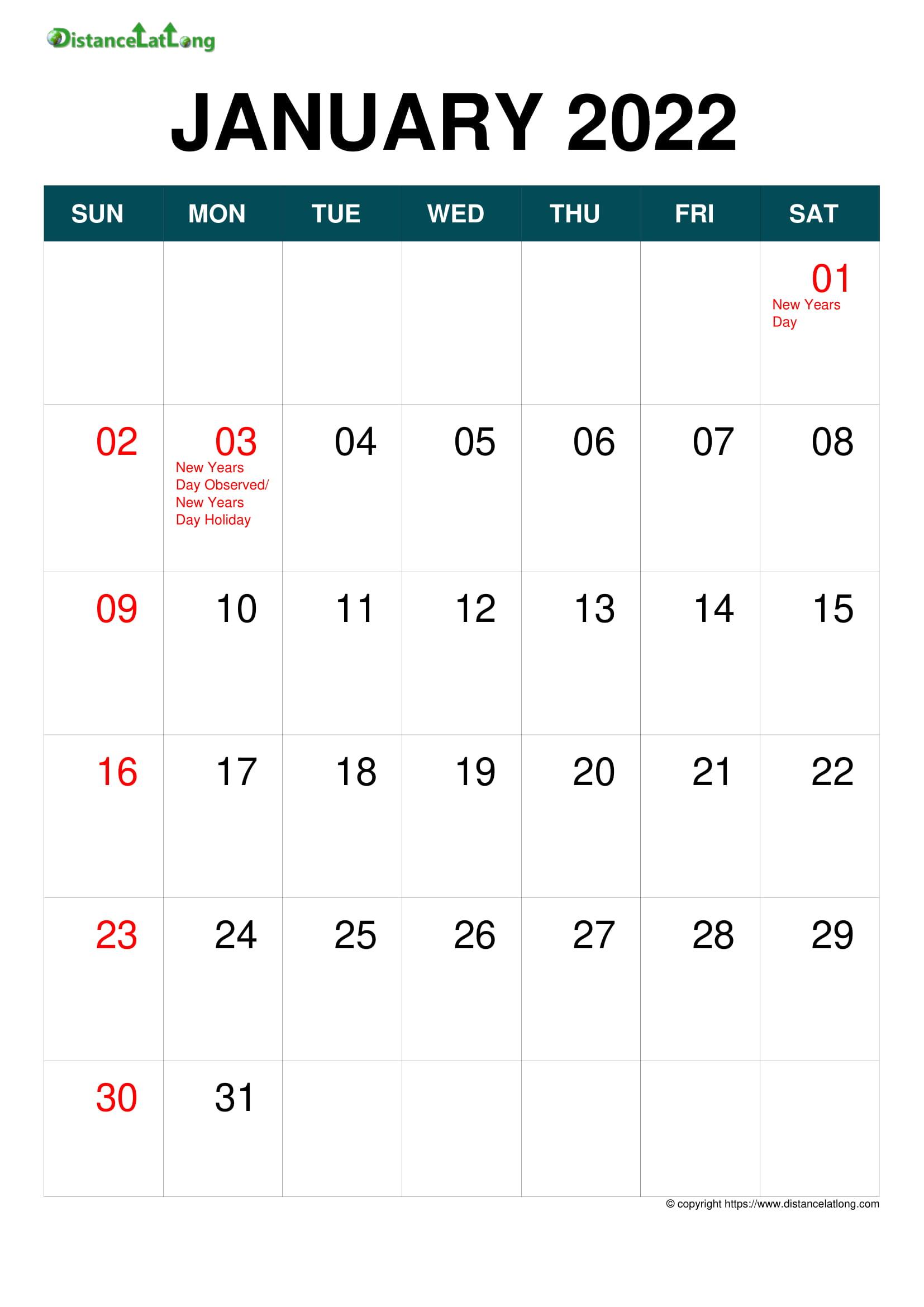 Holiday 2022 Calendar.2022 Holiday Calendar Portrait Orientation Free Printable Templates Free Download Distancelatlong Com