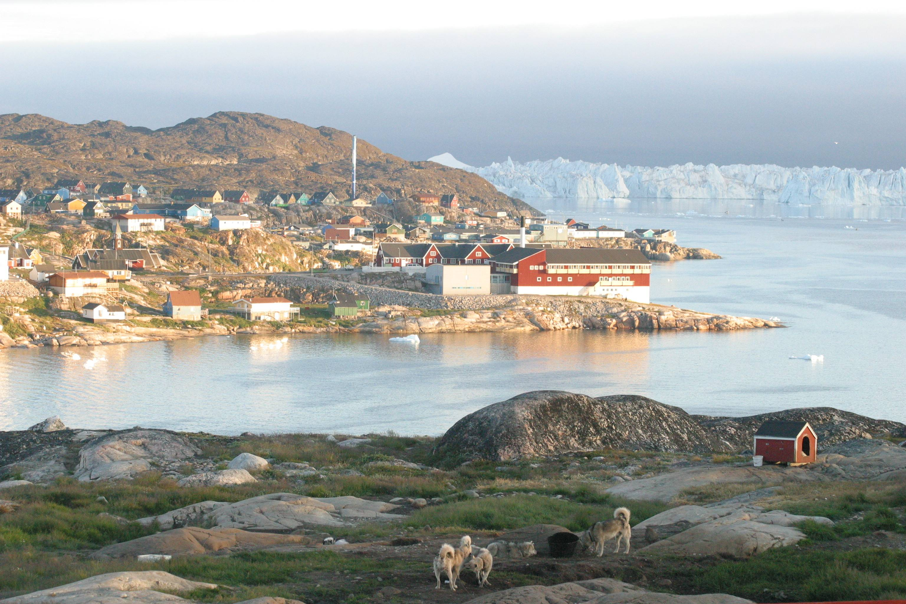 List Of States In Greenland With Latitude And Longitude States - Iceland latitude